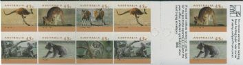 Aus SG1459a Australian Wildlife (2nd series) self-adhesive booklet pane (SB85)